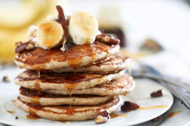 Banana Buttermilk Pancakes | by Sonia! The Healthy Foodie