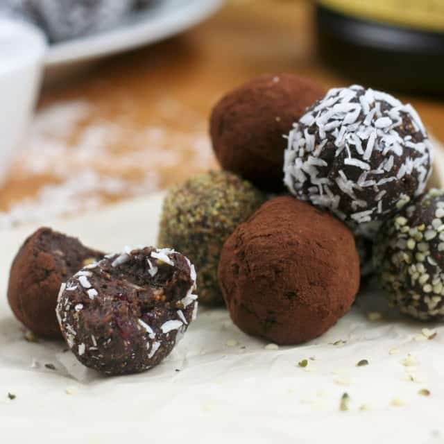 Surprisingly Healthy Chocolate Truffles | by Sonia! The Healthy Foodie