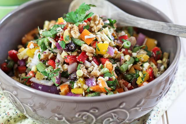 veggie salad gf v full spectrum veggie salad super simple egg white ...