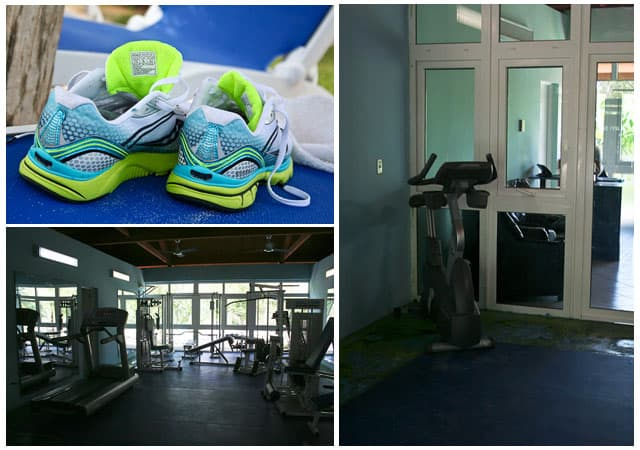 Gym Dedication | Playa Blanca Hotel - Cayo Largo
