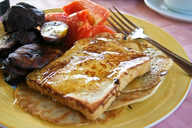 French Toasts and Pancakes | Snack Bar - Playa Blanca Hotel - Cayo Largo