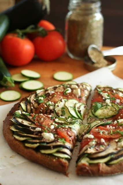 Ratatouille Pizza | by Sonia! The Healthy Foodie