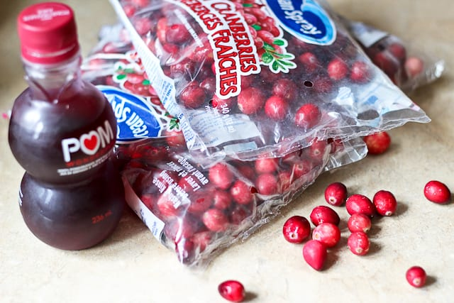 Cranberries and Pomegranate Juice | by Sonia! The Healthy Foodie