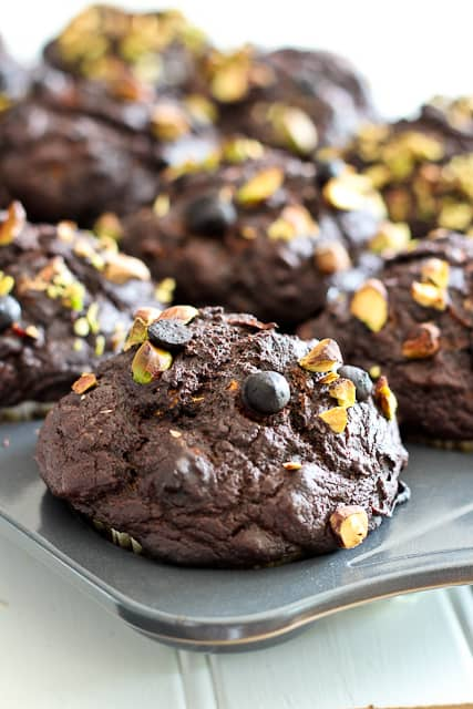 Pumpkin Zucchini Chocolate Muffins Recipe — Dishmaps
