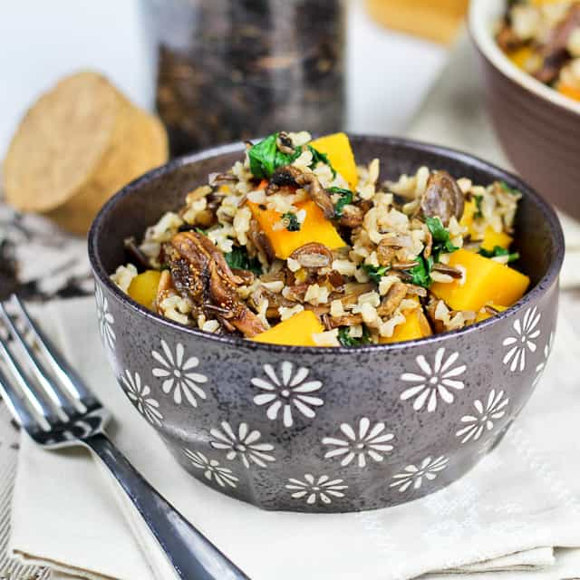 rice with squash spinach brown wild rice dish brown wild rice dish
