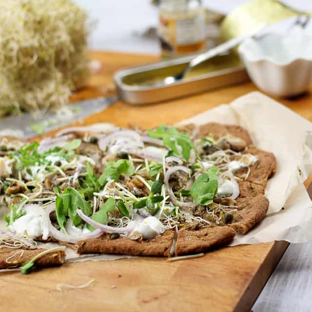 Smoked Herring and Yogurt Pizza... or it is a Flat Bread? • The ...