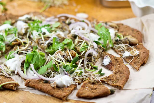 Smoked Herring and Yogurt Pizza... or it is a Flat Bread? - The ...