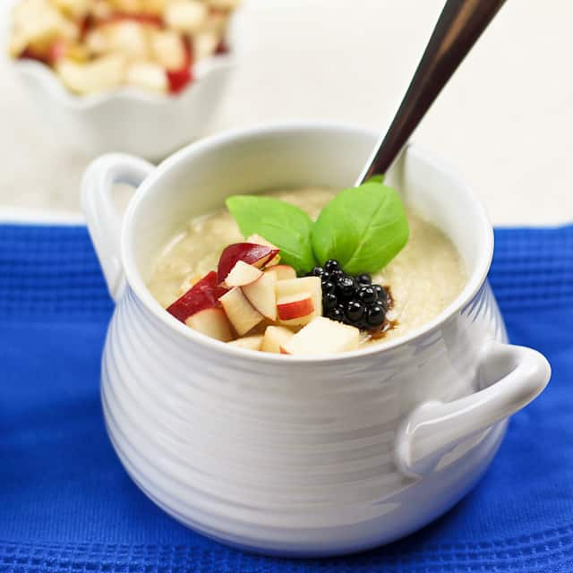 and creamy roasted garlic and cauliflower soup creamy cauliflower soup ...