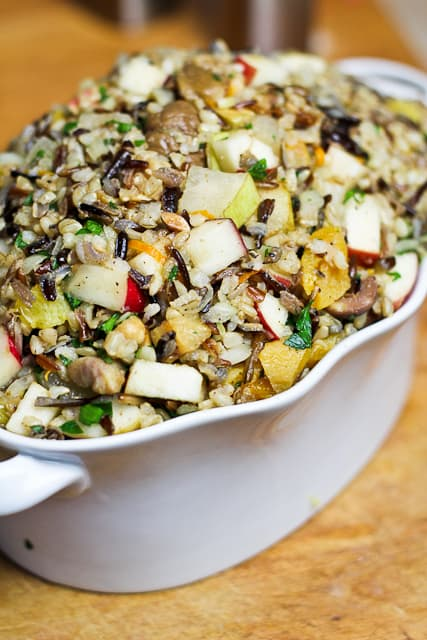 brown wild rice dish brown rice with squash spinach brown wild rice ...