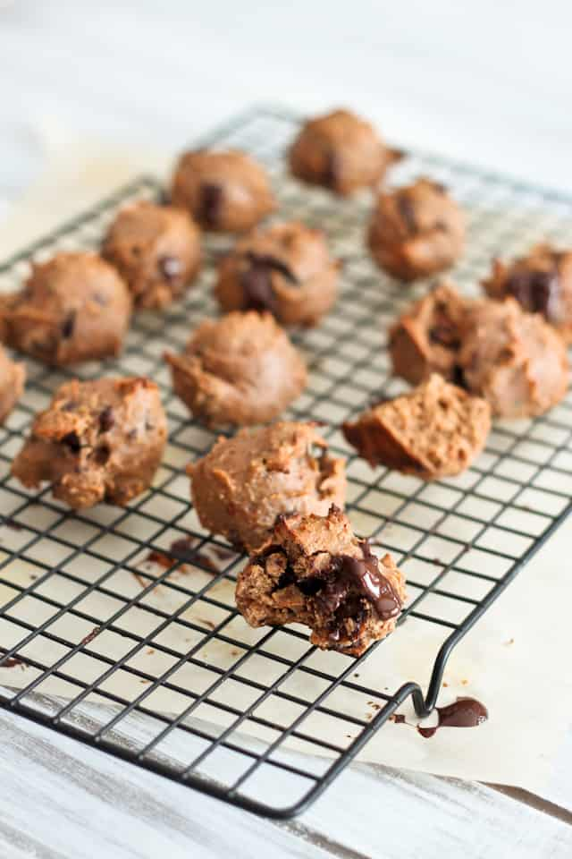 Grain Free Hazelnut Butter Chocolate Chunk Cookies | by Sonia! The Healthy Foodie