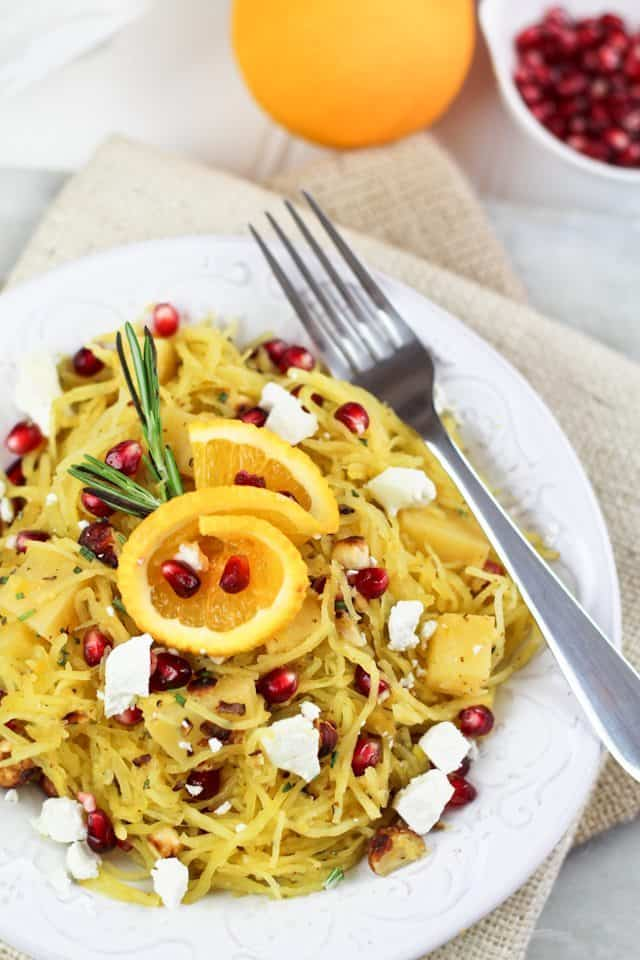 ... squash squash bacon and goat cheese pasta with basil spaghetti squash