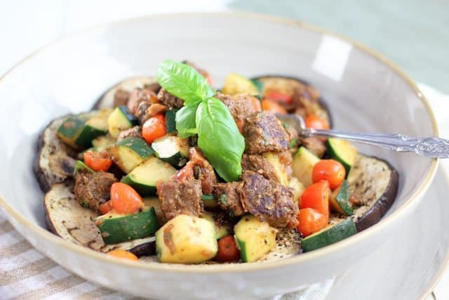 The Meat Lover's Ratatouille   by Sonia! The Healthy Foodie