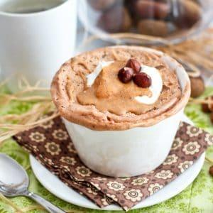 Chestnut Hazelnut Instant Breakfast Cake | by Sonia! The Healthy Foodie