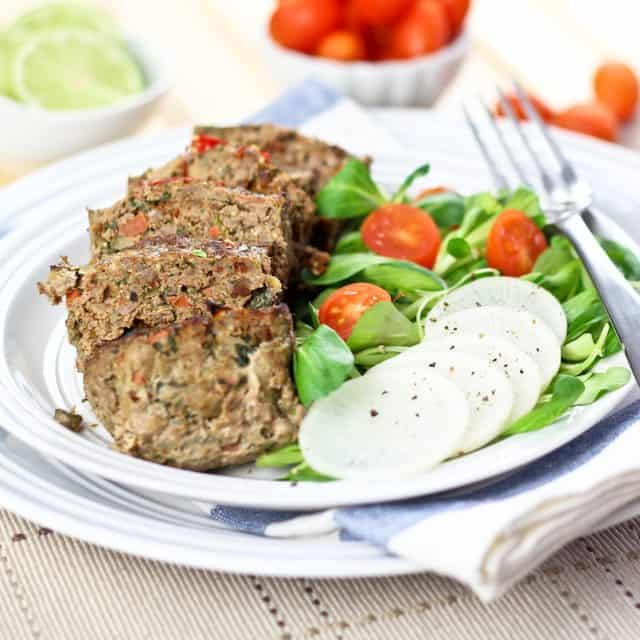 Vegetable Overload Individual Meatloaves
