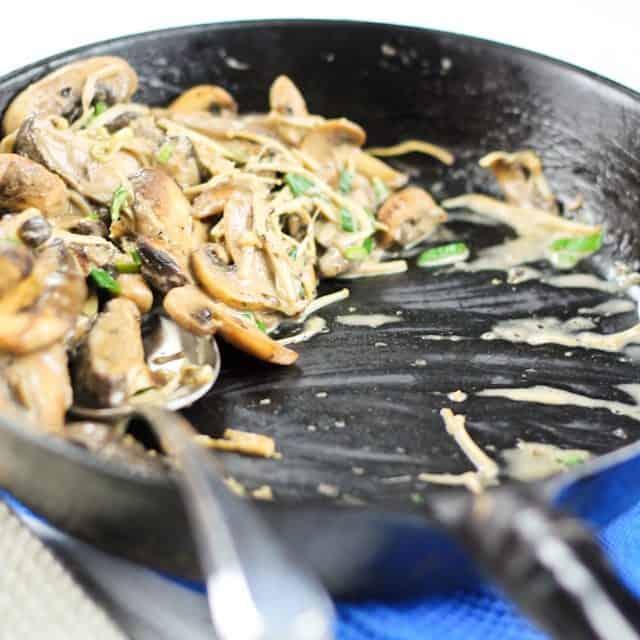Quick Mushroom Ragout