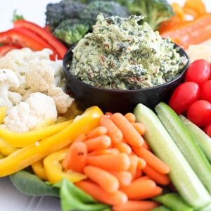 Avocado Spinach Dip – So good, you'll want to eat it by the spoonful!