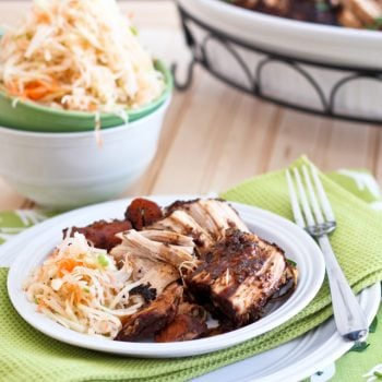 Deliciously Healthy Braised Un-Pulled Pork