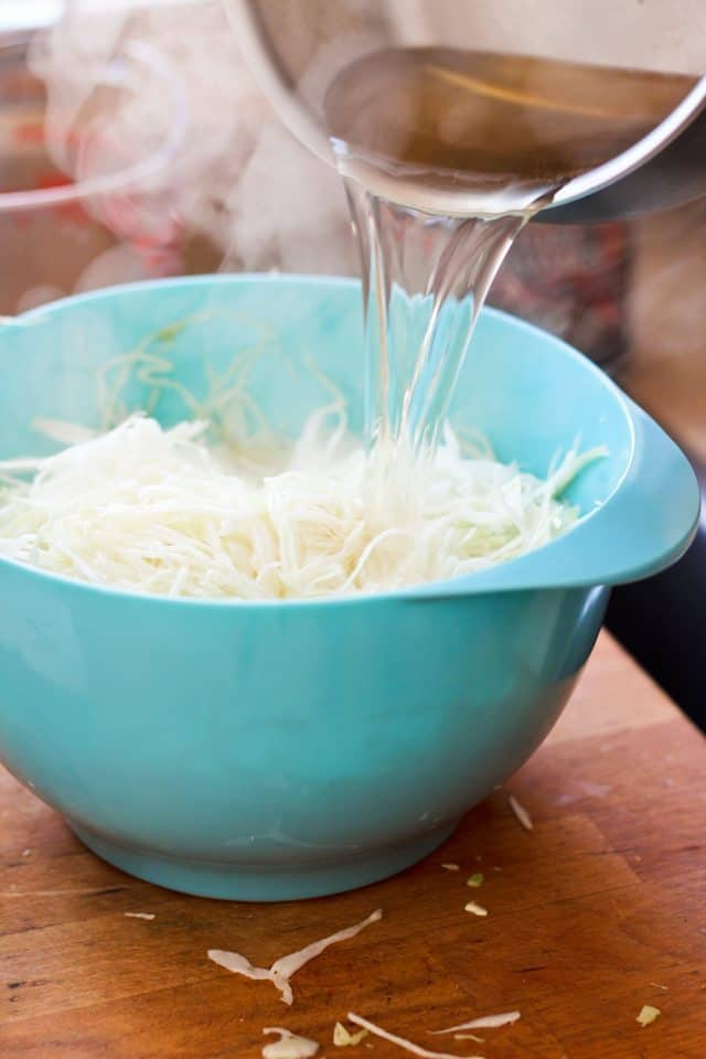 Green Apple Minute Sauerkraut | by Sonia! The Healthy Foodie