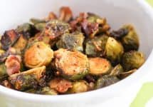 Oven Roasted Brussel Sprouts | by Sonia! The Healthy Foodie