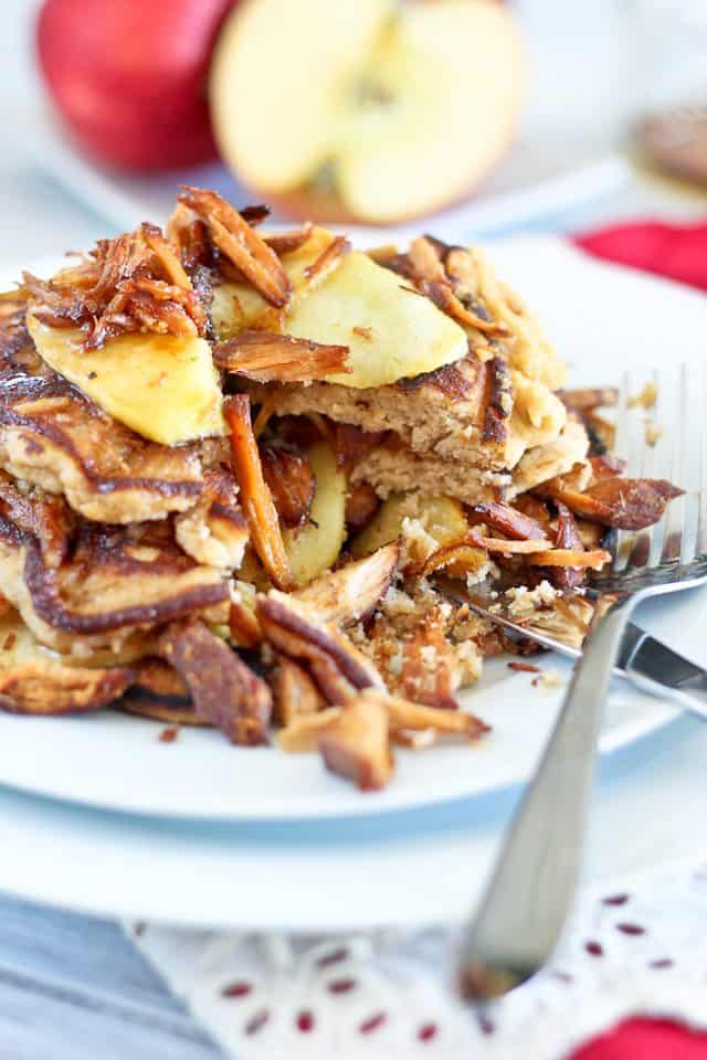 Crispy Pork and Apple Pancakes | by Sonia! The Healthy Foodie