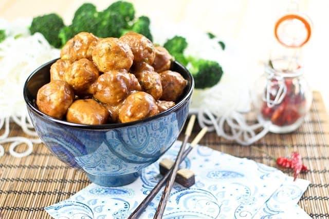 Genaral Tsos Meatballs | by Sonia! The Healthy Foodie