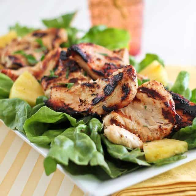 grilled butterflied chicken breasts with cilantro lime butter grilled ...