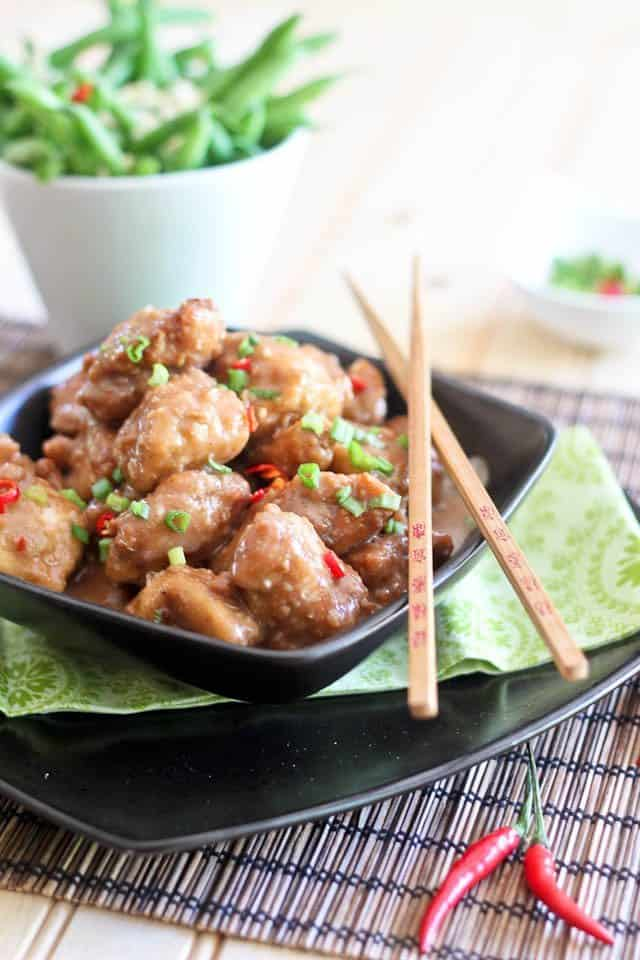 General Tso Chicken Paleo Style | by Sonia! The Healthy Foodie