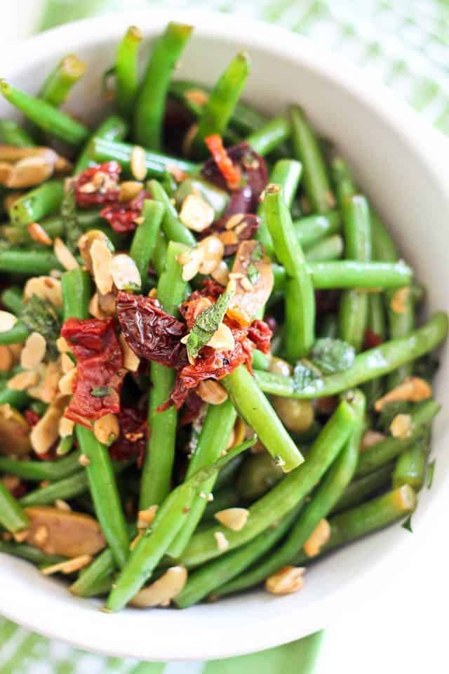 Green Bean Olive and Sundried Tomato Salad | by Sonia! The Healthy ...