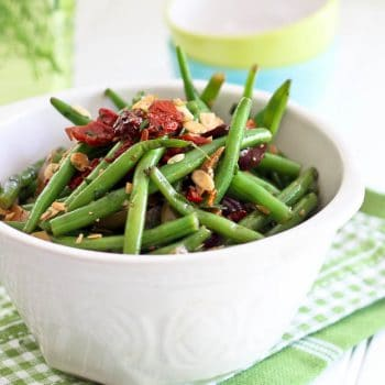 Green Beans, Olives & Sun Dried Tomato Salad