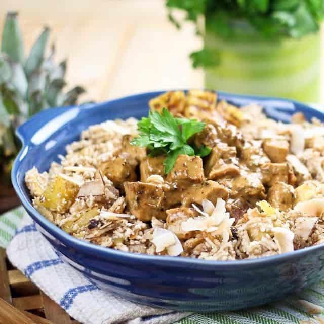 Moroccan Style Cauliflower Rice