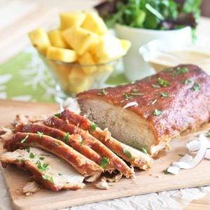 Pineapple Braised Pork Roast