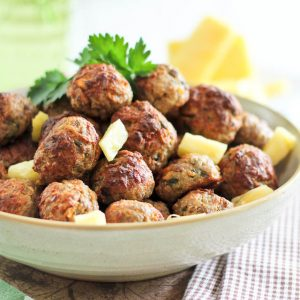 Deliciously Tender Pineapple Meatballs