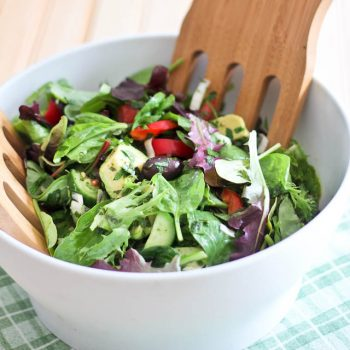 Super Simple Loaded House Salad