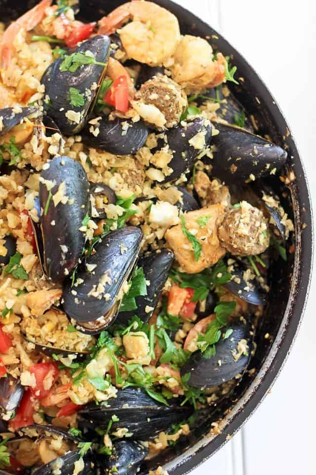 Paleo Paella | by Sonia! The Healthy Foodie