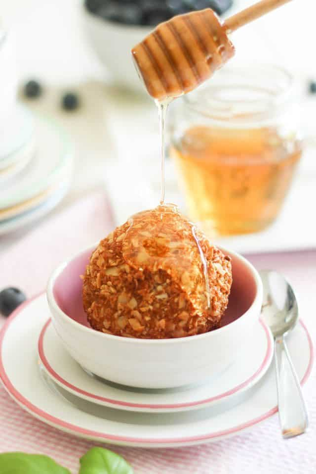 Toasted Coconut Fried Ice Cream   by Sonia! The Healthy Foodie