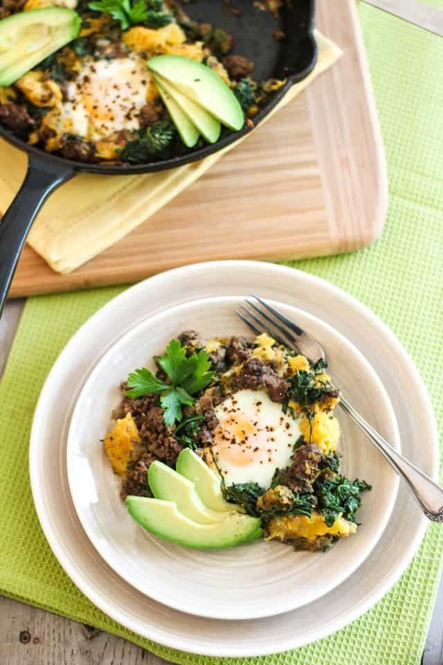 http://thehealthyfoodie.com/wp-content/uploads/2013/08/Ground-Beef-Butternut-Squash-Breakfast-Skillet-6.jpg