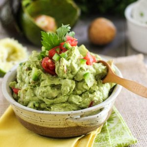 Quick and Easy Guacamole