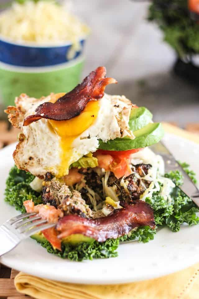 Mile High Power Breakfast Burger | by Sonia! The Healthy Foodie
