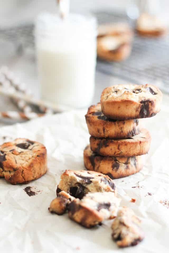 Paleo Chocolate Chunk Cookies | by Sonia! The Healthy Foodie