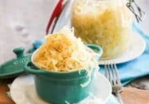 Homemade Sauerkraut | by Sonia! The Healthy Foodie