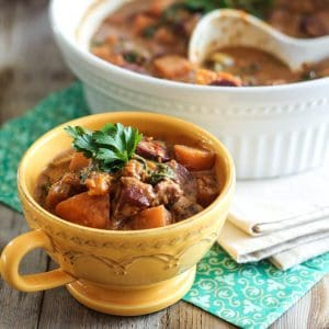 Apple and Butternut Squash Pork Stew