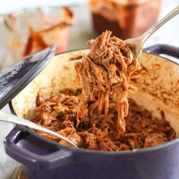 BBQ Pulled Pork (with Homemade BBQ Sauce)