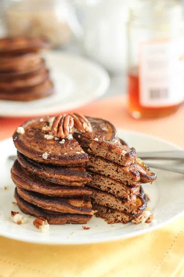 Spiced Pumpkin Pancakes By Sonia The Healthy Foodie