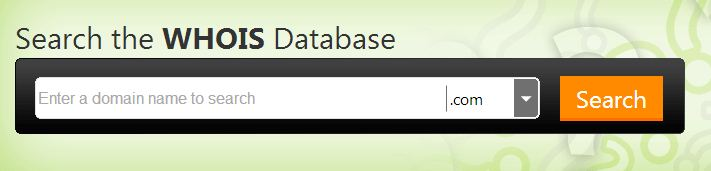 WhoIs Database - GoDaddy