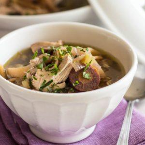 Chicken Nonoodle Soup