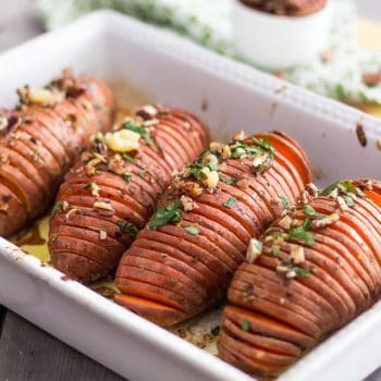 Hasselback Sweet Potatoes