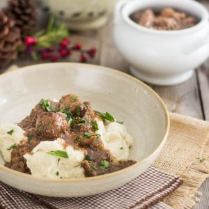 Pork Shank and Meatball Stew – A Christmas Tradition made Paleo