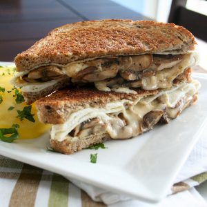 Grilled Cheese Sandwich – Kicked Up A Notch!
