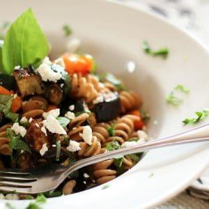 Grilled Vegetables Summer Pasta