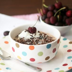 Cherry & Chocolate Overnight Oats